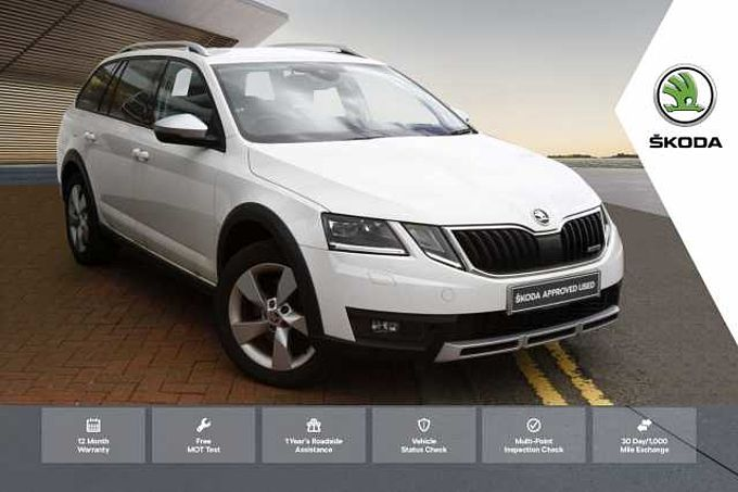 SKODA Octavia Estate Scout (2017) 2.0TDI (184ps) 4X4 DSG