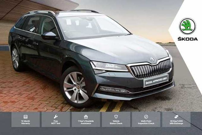 SKODA Superb 1.4 TSI (218ps) SE L iV DSG Estate