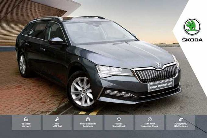 SKODA Superb 1.4 TSI (218ps) SE Technology iV DSG Estate